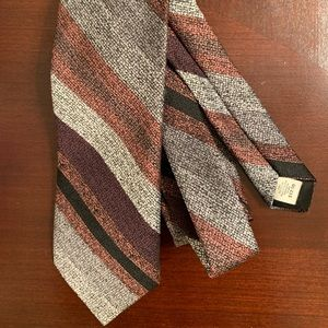 Vintage 80s Hardy Amies Polyester Tie